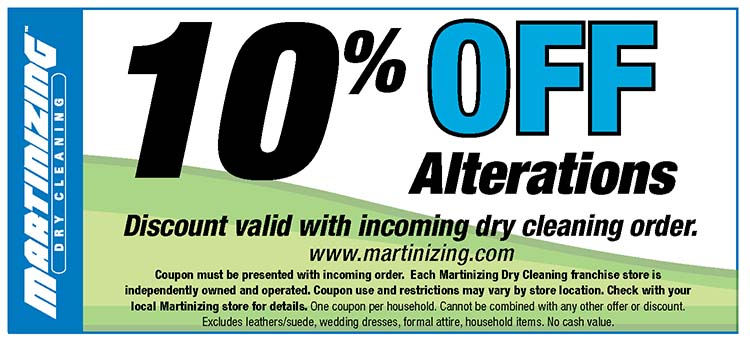 Martinizing coupons